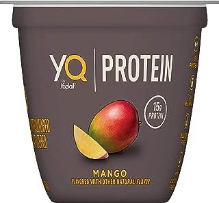 YQ by Yoplait Mango Single Serve Yogurt Made with Cultured Ultra-Filtered Milk, 5.3 oz Cup