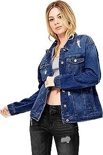 Best plus size oversize denim jacket Reviews