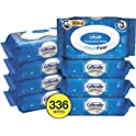 336-Pack Cottonelle FreshCare Flushable Wet Wipes for Adults