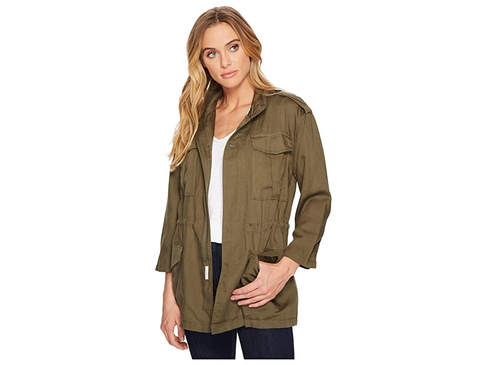 DL1961 Beekman Military Jacket (Military Green) Women