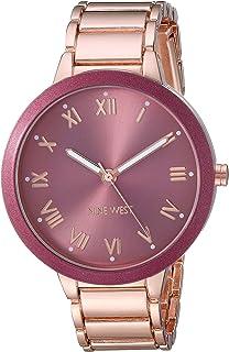 Nine West NW/2248BERG Reloj de pulsera para mujer, tono oro rosa