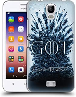 Official HBO Game of Thrones Aftermath Season 8 Key Art Hard Back Case Compatible for Huawei Y360 / Y3