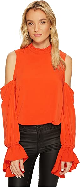 Bishop + Young - Cold Shoulder Sleeve Detail Top