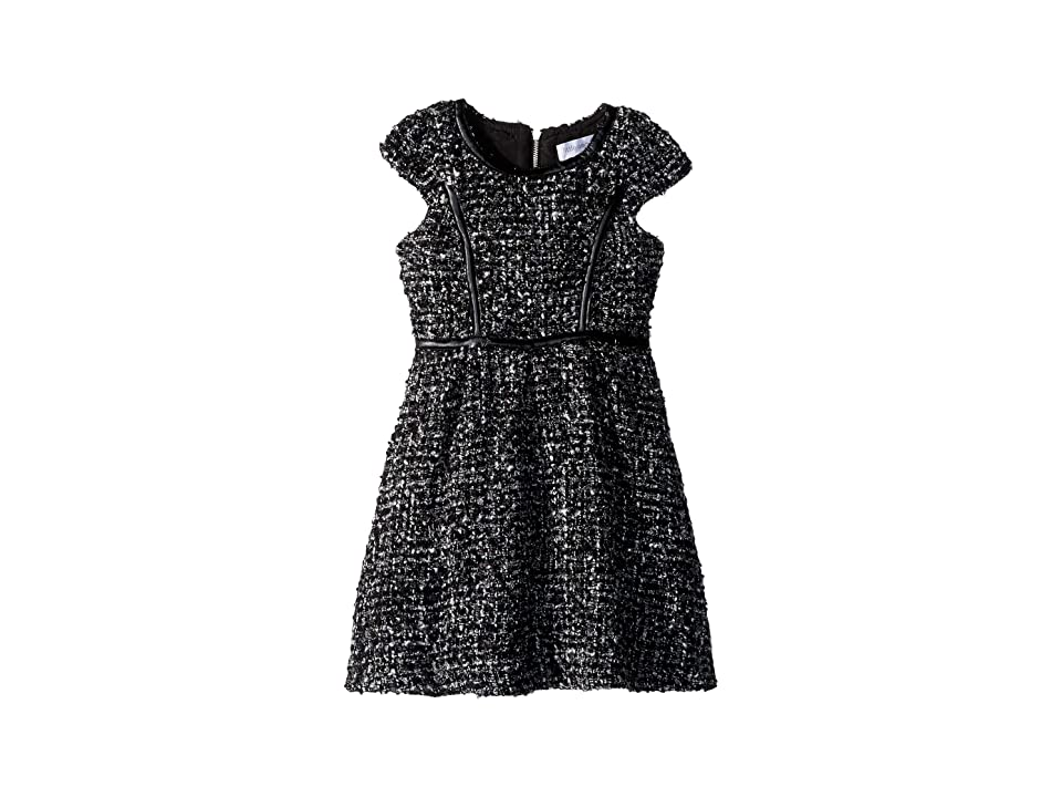 Us Angels Boucle Dress (Toddler/Little Kids) (Black) Girl