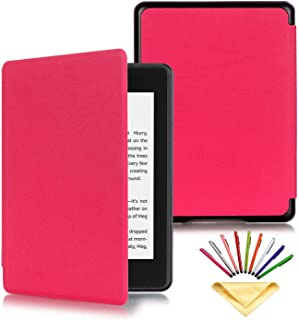 Kindle Paperwhite Case (10th Generation, 2018), Uliking Smart Slim Lightweight Cover with Pencil Auto Wake/Sleep Synthetic...