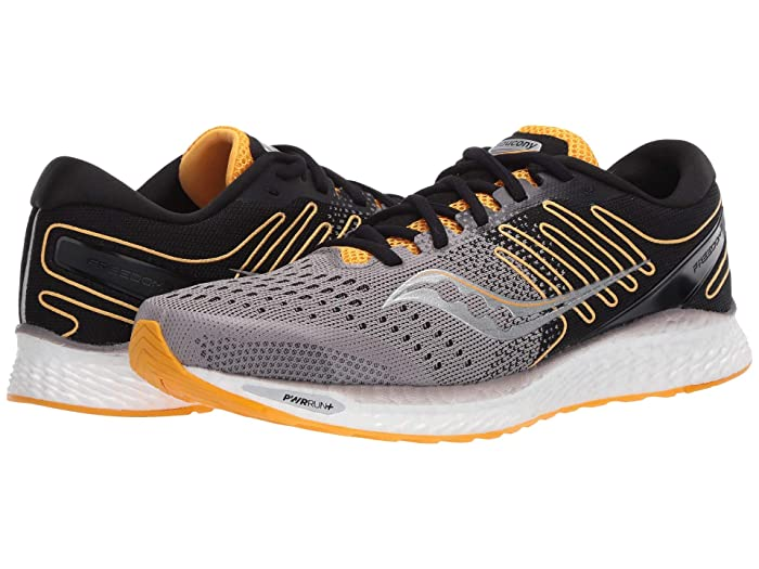 Saucony  Freedom 3 (Black/Yellow) Mens Shoes