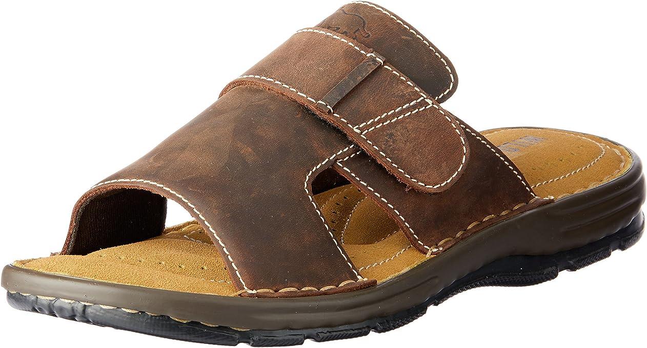 Wild Rhino Men's Daley Shoes, Dark Brown