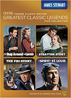 TCM Greatest Classic Legends: (The Shop Around the Corner / The Stratton Story / The FBI Story / The Spirit of St. Louis)