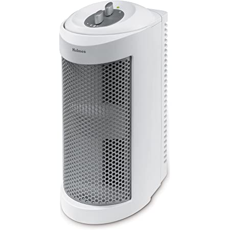 Holmes True HEPA Air Purifier, Small, White