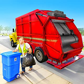 City Garbage Truck Simulator: Top Free Real Trash Dumper Truck Driving Game 3D