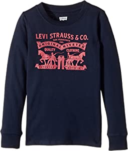 Levi's® Kids Long Sleeve Tee (Toddler)