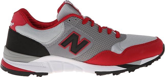 Amazon.com   New Balance Men's 850 V1 Sneaker, Grey/Red, 4 D US ...