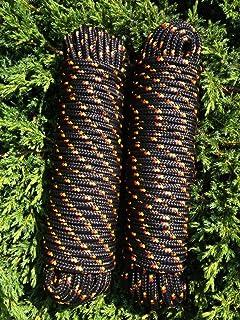 Reparaturseil Kordel,Seil Nr.7 Blaue Leine 4 mm,30m,Bootseil,Ersatzseil Schot