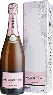 Louis Roederer Champagne Brut Rosé 2014 in Champagner Grafik-Geschenkpackung 1 x 0.75 l