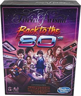 Trivial Pursuit Netflix Stranger Things - Back to The 80s Edition - Adult Party Board Games - Ages 14+