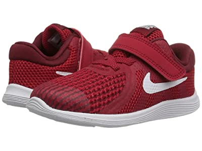 Nike Kids Revolution 4 (Infant/Toddler) (Gym Red/White/Team Red/Black) Boys Shoes