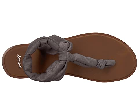 Low Price Fee Shipping Sale Online Sanuk Yoga Sling Ella LX Charcoal 2018 New For Sale Outlet Good Selling t5a07MaQ