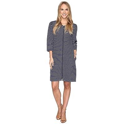 Pendleton Lola Stripe Dress (Tartan Navy/White) Women
