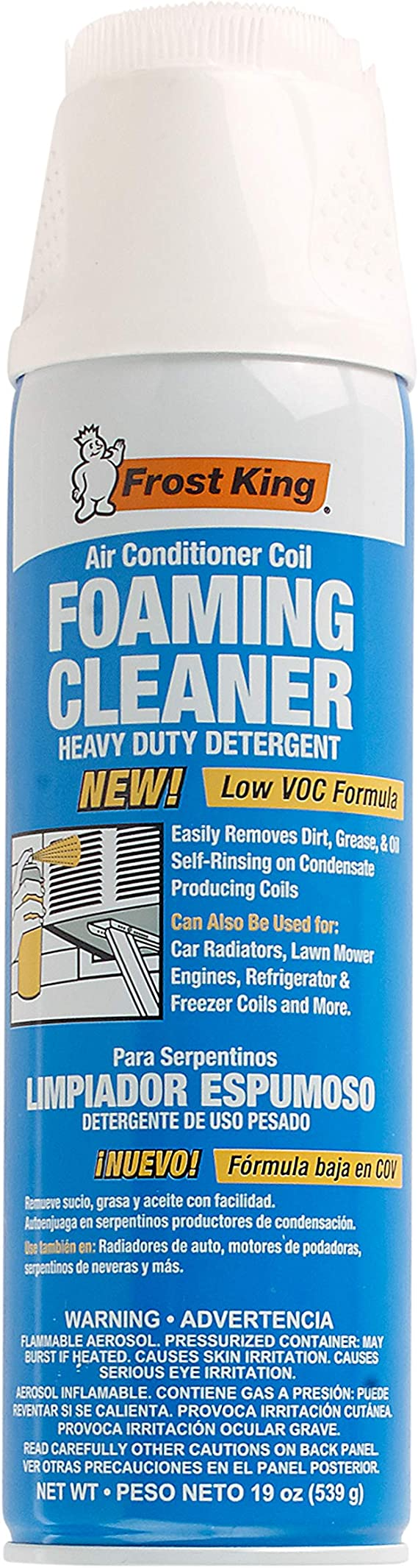 Frost King Air Conditioner Coil Foam Cleaner