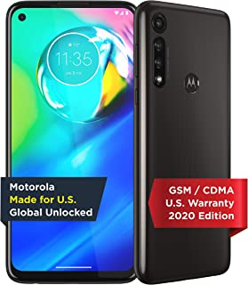 Moto G Power | Unlocked | Made for US by Motorola | 4/64GB | 16MP Camera | 2020 | Black