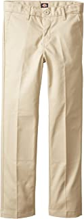 Khaki Big Boy's Flex Waist Slim Stretch Pant