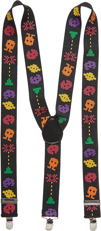 Arcade Suspenders (adjustable) Party Accessory (1 count) (1/Pkg)