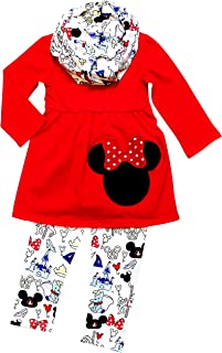 So Sydney Girls Toddler Pink or Red Minnie Mouse Kids Boutique Dress or  Outfit c414af922