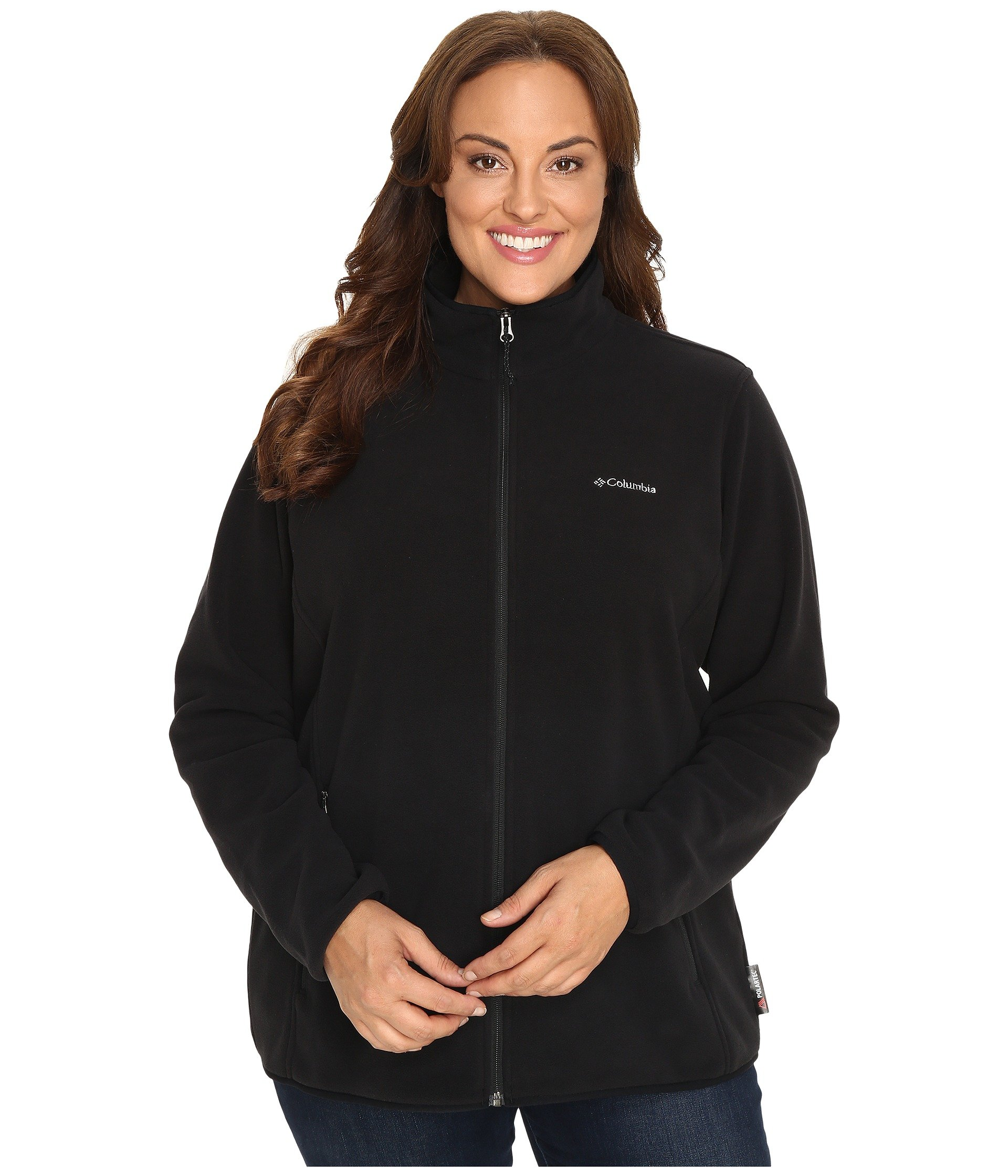 Clothing women plus size athletic shipped free at zappos columbia plus size fuller ridge fleece jacket sciox Images