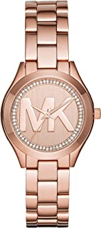 Best mk watches rose gold for women Reviews