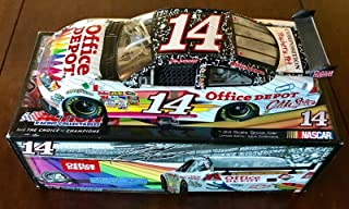 2009 Tony Stewart Office Depot Back To School Signed 1/24 Diecast Car W/COA - Autographed Diecast Cars