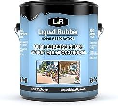 Liquid Rubber Multi-Purpose Primer - Easy to Apply - Fast Drying - Non-Toxic, 1 Gallon