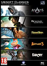 Ubisoft Classics: Assassin's Creed, Beyond Good & Evil, Prince of Persia The Sands of Time, Rayman 3, and Far cry COMPUTER GAME
