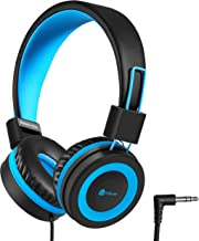 iClever Kids Headphones, Wired Headphones for Kids with 94 dB Volume Limited for Boys..