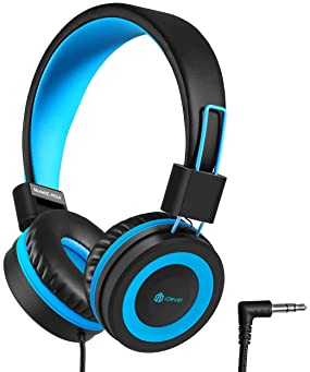 iClever HS14 Kids Headphones, Headphones for Kids with 94dB Volume Limited for Boys Girls, Adjustable Headband, Folda...