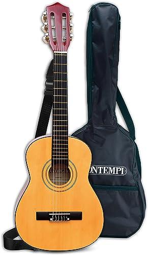 minoristas en línea Bontempi-21 752 Guitarra clásica de Madera y Bolsa de de de Transporte, MultiColor, 75 cm (Spanish Business Option Tradding)  Ven a elegir tu propio estilo deportivo.