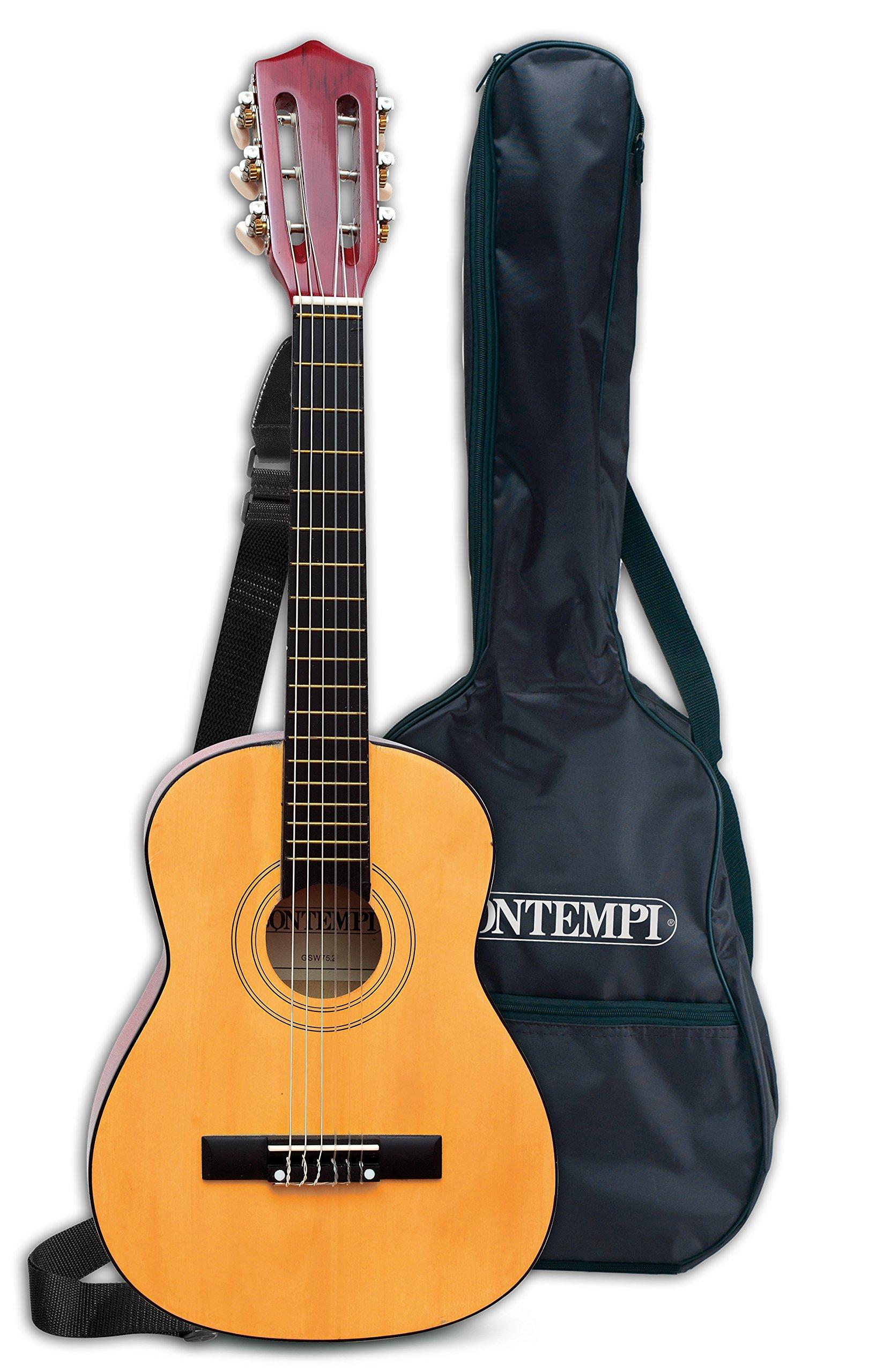 Bontempi-21 752 Guitarra clásica de Madera y Bolsa de Transporte ...