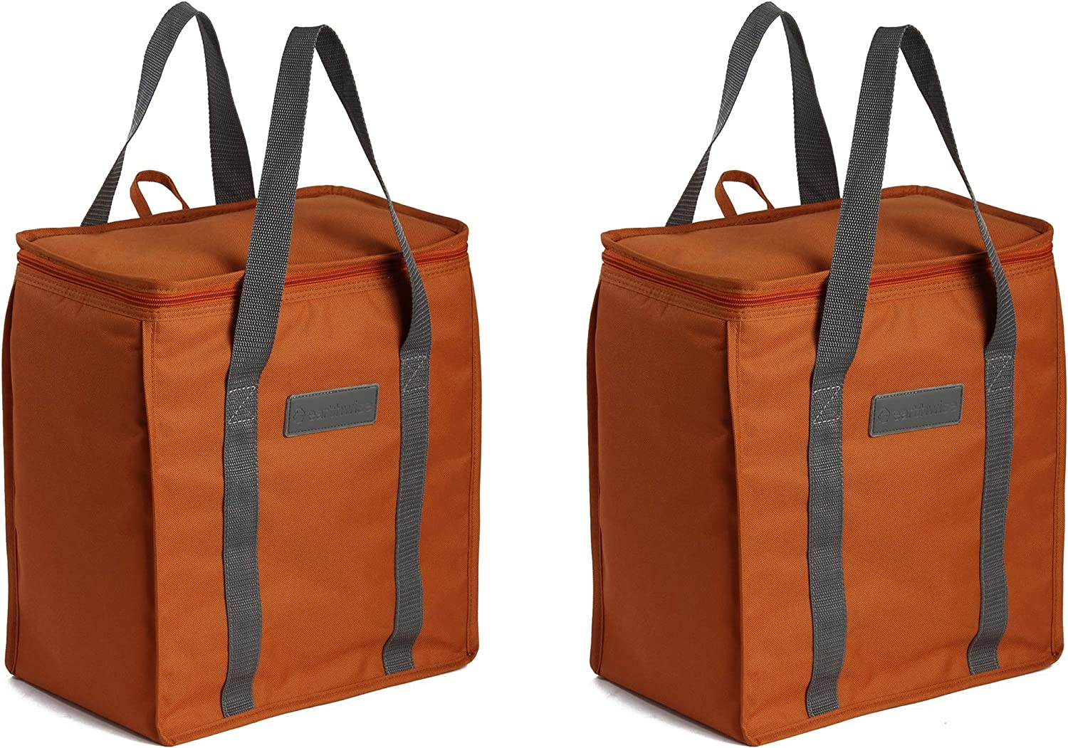 Earthwise 2021 new Reusable Insulated Grocery Bags Therm Duty Heavy Nylon Seattle Mall