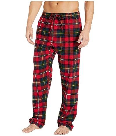 Polo Ralph Lauren Flannel Classic Pajama Pants (Bromley Plaid/Nevis Pony Print) Men