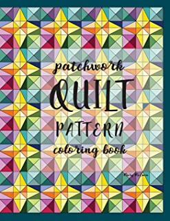 Patchwork Quilt Pattern Coloring Book