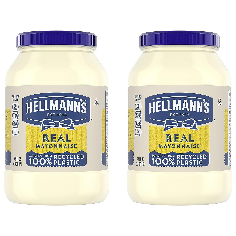 Hellmann's Finally popular brand Real Mayonnaise 48 100% quality warranty oz Pack Twin