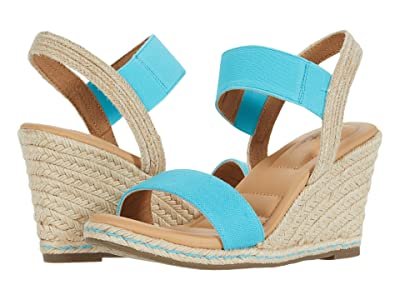Me Too Barra (Turquoise Canvas) Women