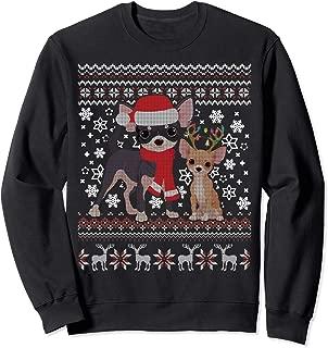Chihuahua Dog Ugly Christmas Sweater Xmas Puppy Gift Sweatshirt
