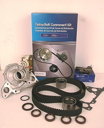 GENUINE HYDRAULIC TENSIONER KPTK-WP323HT Timing Belt Kit Water Pump Fit 00-06 Hyundai