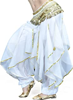 Belly Dance Harem Pants Tribal Baggy Arabic Halloween Pants