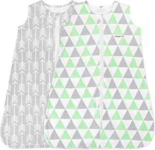 Baby Sleeping Bag Sack – Infant Sleeping Bags 12-18 Months – Pure Cotton Wearable Blanket Baby Sleep Bag – Unisex Zip Up B...