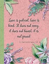 1 Corinthians 13:4 - Love is patient, love is kind: 8.5 x 11