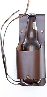 Ashlin® Cowboy Rustic Bottle & Can Holster Holster, Dark Brown Leather [BOTTLHLDR-08-02]