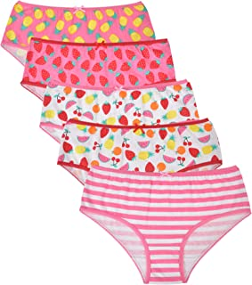 Baby Girls Toddler Panties Underpants 3 to 6 Years Briefs Disney Minnie Mouse /& Daisy Duck Girls Knickers Pants 100/% Soft Cotton Knickers Childrens Underwear Multipack of 5
