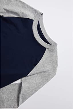 Navy/Heather Grey