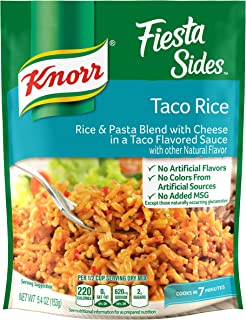 Knorr Rice Side Dish, Fiesta Taco, 5.4 Oz